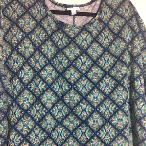 LuLaRoe Irma Tunic Top XL